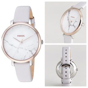 """Fossil """"granite"""" face watch, NWT"""